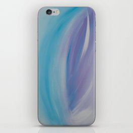 Spiritual Flowering Beautiful Birth iPhone Skin