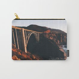 Sunburnt Bixby Bridge - Big Sur, California Carry-All Pouch