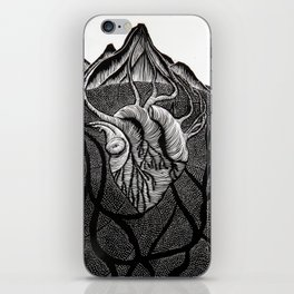 The Heart of the Mountain. iPhone Skin