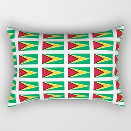 Flag of Guyana -Guyanese,Guyanes,Georgetown,Linden,Waiwai Rectangular Pillow