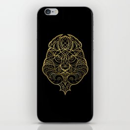 Leo Gold iPhone Skin