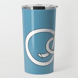 blue knot Travel Mug