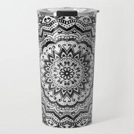 BLACK JEWEL MANDALA Travel Mug