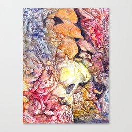 Dreaming the sea Canvas Print