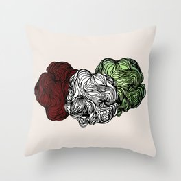 The Nature Of Dust Throw Pillow