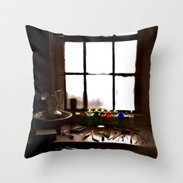 Artist Studio Photography Throw Pillow