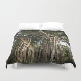 Banyan Tree at Bonnet House Duvet Cover
