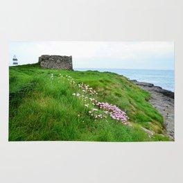 Irish Seascape with Hook Lighthouse Rug