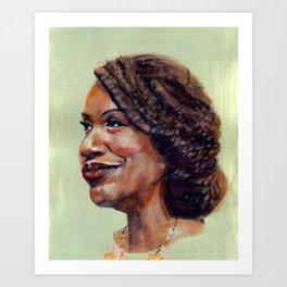 Ayanna Pressley Art Print