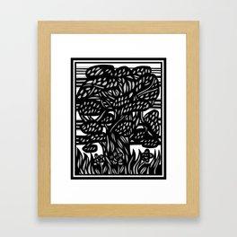 Abdullah Reikos Forest Framed Art Print