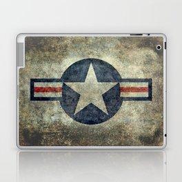 USAF vintage retro style roundel Laptop & iPad Skin