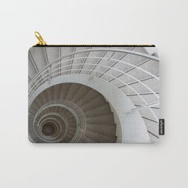 the spiral (architecture) Carry-All Pouch