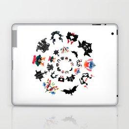 Rorschach test subjects' perceptions of inkblots psychology   thinking Exner score Laptop & iPad Skin