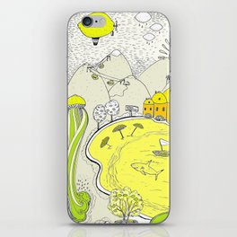 Lemon paradise iPhone Skin
