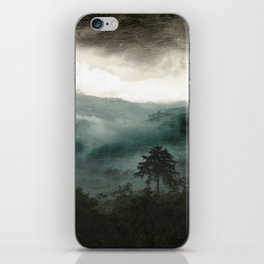 Above the Clouds and Beyond iPhone Skin