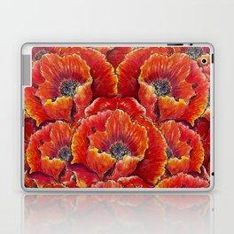 Big red poppies Laptop & iPad Skin