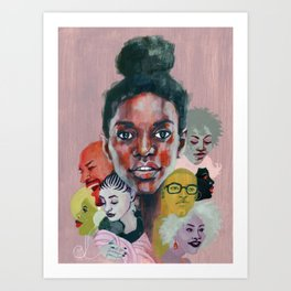 All Together Now Art Print