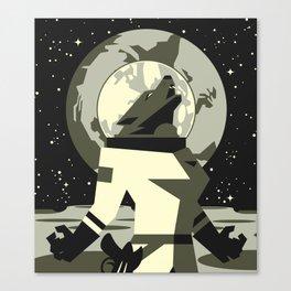 Werewolf in the Moon Canvas Print