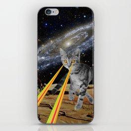 CAT ATTACK!  iPhone Skin