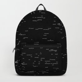 Void of meanings Backpack