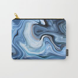 Marble texture print Carry-All Pouch