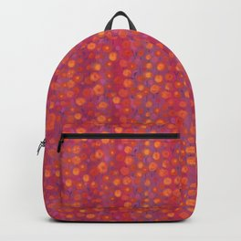 Candy Field, Pink & Orange Backpack