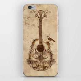 The Guitar's Song iPhone Skin