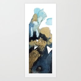 aerial view abstract #1 Art Print