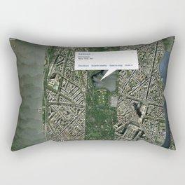 What if Manhattan Was Designed Like Paris? Rectangular Pillow