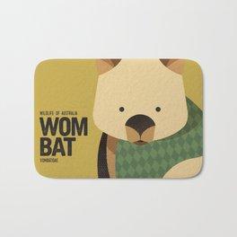 Hello Wombat Bath Mat