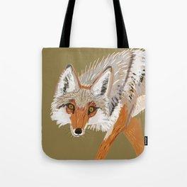 Totem Coyote Tote Bag