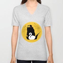 CAPTAIN SWAN (Yellow) Unisex V-Neck