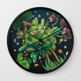 The consoling planet Wall Clock
