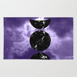 Marbled Moon Phases #3 #decor #art #society6 Rug