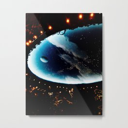 Astronomy Ceiling Metal Print