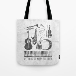 Weapons Of Mass Creation - Music (on paper) Tote Bag