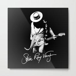 SRV-Stevie Ray Vaughan-Number one - Guitar-Blues-Rock legend 4 Metal Print
