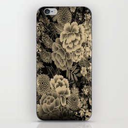 Vintage Floral Abstract iPhone Skin
