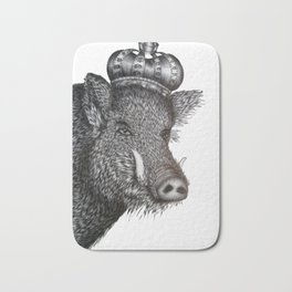 The Boar King Bath Mat