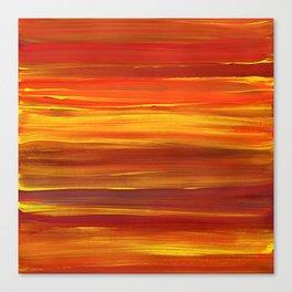 Sunset stratum Canvas Print