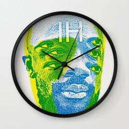 Eye-saac Wall Clock