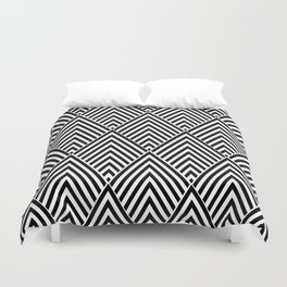 Triangles in Diamonds Duvet Cover