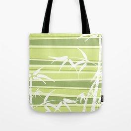 Bamboo Stripes Tote Bag