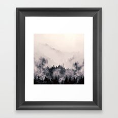 I fall behind Framed Art Print