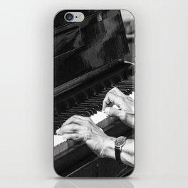 Play the Piano iPhone Skin