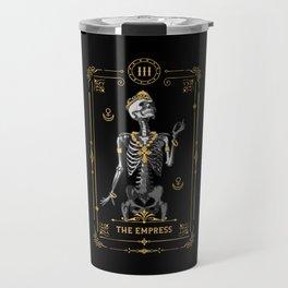 The Empress III Tarot Card Travel Mug