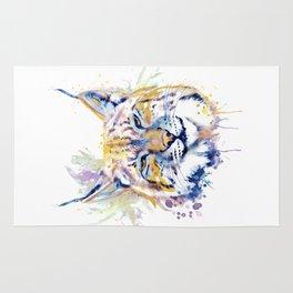 Bobcat Head Rug