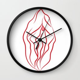 it's clitorical Wall Clock