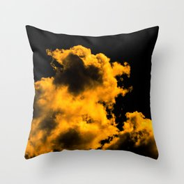 A little touch of bitterness (all yellow) Throw Pillow