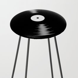 Vinyl Counter Stool